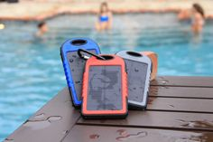 Solar Reflex The Solar Powered Waterproof Dual Portable Charger