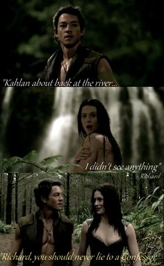 Richard and Kahlan. Lake. by TheConDar.deviantart.com on @deviantART