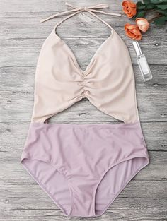 GET $50 NOW | Join Zaful: Get YOUR $50 NOW!http://m.zaful.com/color-block-ruched-cutout-one-piece-swimsuit-p_278027.html?seid=d6kui04g4h61p77jrojhvv7590zf278027