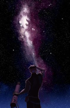 """""""After everything he's been through... I'm glad he still loves space. My piece for the @shiro_zine because we can post them. #vld #shiro"""""""
