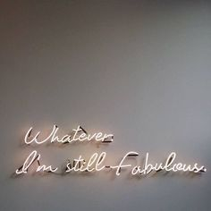 Home - i need this neon sign in my house immediately.