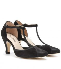 Repetto - BAYA SUEDE T-BAR PUMPS