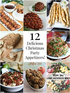 Make your holiday party a hit with any of these 12 delicious Christmas party appetizers!