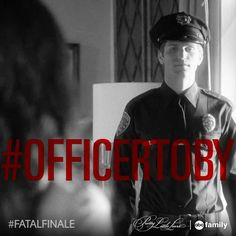 "S5 Ep12 ""Taking This One To the Grave"" - #OfficerToby is seriousy HOT! #PLL #FatalFinale"