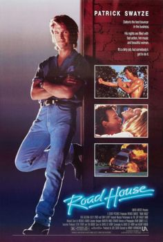Road House, starring Patrick Swayze, Ben Gazzarra, Kelly Lynch, Sam Elliott, Jeff Healey, Terry Funk, and Kevin Tighe. Directed by Rowdy Harrington (no, really, his name is Rowdy). ($19.99)