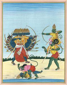 Kailash Raj, Lord Rama Killing Ravana