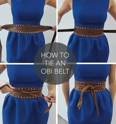 MUST HAVE: OBI BELT