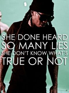 thank you Lil Wayne, I think everyone feels this at some point