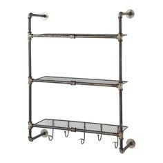 Bathroom furniture on Maisons du Monde. Take a look at all the furniture and decorative objects on Maisons du Monde. Industrial Metal Shelving, Metal Shelves, Industrial House, Industrial Style, Teen Furniture, Small Furniture, Affordable Furniture, Bathroom Furniture, Studio Furniture