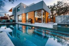 Modern pool #architecture #coolhouses