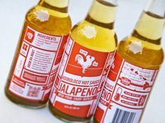 Nice bottle label