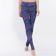 Galaxy Printed Yoga Leggings