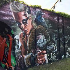 street art Studio Giftig for Step in the Arena (SITA) in Berenkuil, Eindhoven, Netherlands