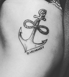 c68f958f707d1 25 Best Infinity Anchor Tattoos images in 2018 | Anchor tattoos ...