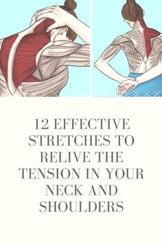 Is your life and work making you suffer neck and shoulder pain These effective stretches are easy to perform and […] is part of Neck pain exercises - Neck And Shoulder Stretches, Neck And Shoulder Pain, Neck And Back Pain, Shoulder Pain Exercises, Sore Neck And Shoulders, Pinched Nerve In Shoulder, Shoulder Exercises Physical Therapy, Middle Back Pain, Shoulder Massage