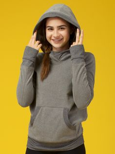 cozy up, hood up. | Huddle Up Pullover
