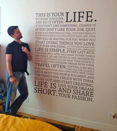 WOW! This really says it all. Follow your passion.