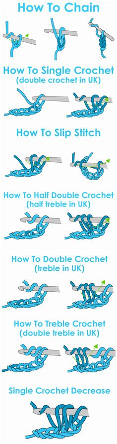 crochet lessons for the begginers