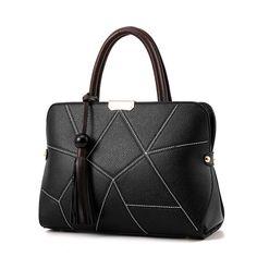 2017 Brand Design Female Bag Lady Bags Fashion Women Handbag Casual Shoulder Handbag Tassel Tote Embossed PU leather bag  #sapphire #semipreciousstones #bernstein #earstuds #armband #olivias #gold #designer #rubin #saphir