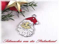 Weiteres - grosser Weihnachtsmann - Anhänger - ein Designerstück von Perlenbraut- bei DaWanda