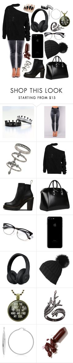 """""""Eavan's Outfit 1"""" by life-or-death-ordeal on Polyvore featuring Miss Selfridge, Magdalena, Givenchy, Black, Lord & Taylor, Sterling Essentials and LAQA & Co."""