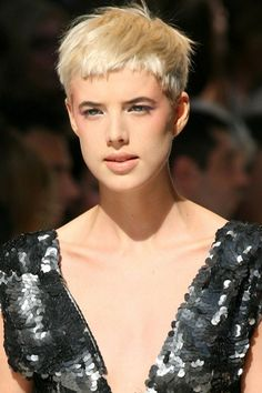 Agnes Deyn hair