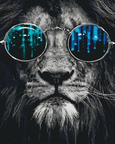 (Top Best Trippy Background & Psychedelic Wallpaper For Desktop, Mobile Animals And Pets, Cute Animals, Lion Wallpaper, Lion Art, Big Cats, Belle Photo, Cool Artwork, Lions, Creatures