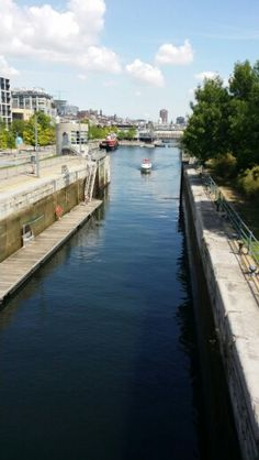 The canal Montreal