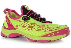 Zoot Women's Ultra TT7 - The single density sole is suitable for neutral runners or those wanting a shoe for orthotics. Built with a smooth sock-less fit they include quick laces and drainage holes for those wet days. Triathlon specific race ready performance shoes, but more important is the yummy colours! Available at The Triathlon Shop Sydney www.thetriathlonshop.com.au. #triathlon #running #thetriathlonshopsydney #triathlete #motivation #swimbikerun