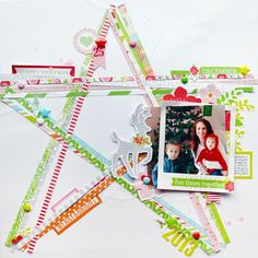 #Papercraft #scrapbook #layout. The One with Layouts for Chickaniddy Crafts