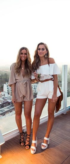 #summer #fashion / romper