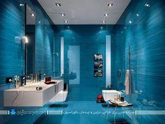 مدل کاشی و سرامیک دیوارها و کف حمام و دستشویی