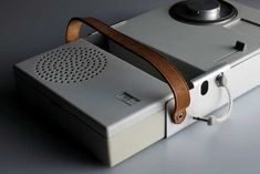 TP1 portable phono combination by dieter rams, 1959