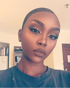 Prefect face!Makeup goals for black girls!  #repost #blackbeauty #prettygirl #makeupgoal #amazing