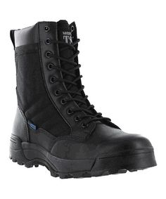 Another great find on #zulily! Black Patrol Hiking Boot by Nord Trail #zulilyfinds