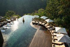 Infinity Pool im Hotel Ubud Hanging Gardens Indonesien