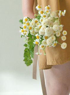 a tiny clutch for the flower girl