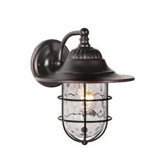 Large (larger than 9 inches) Outdoor Wall Lighting at Lowes.com Outdoor Barn Lighting, Outdoor Wall Lantern, Farmhouse Lighting, Outdoor Wall Sconce, Wall Sconce Lighting, Outdoor Walls, Wall Sconces, Industrial Lighting, Porch Lighting