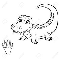 Dibujos de dinosaurios dibujos para imprimir y colorear for Coccodrillo da colorare