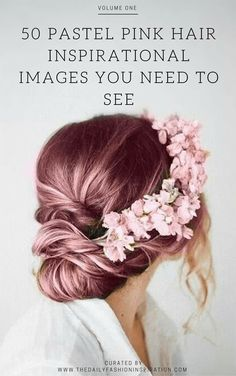 50 pastel pink hair images you need to see at http://www.thedailyfashioninspiration.com/trends/pastel-pink-hair/