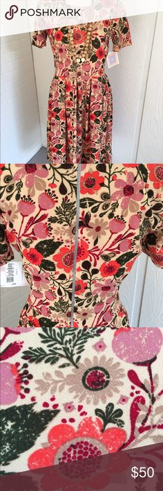 LuLaRoe Amelia dress LuLaRoe Amelia dress NWT LuLaRoe Dresses