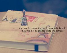 my dreams will be reached by me