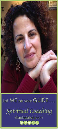 Rita invites YOU on a journey of spiritual healing and forgiveness. JOIN her TODAY! ritaabdallah.com