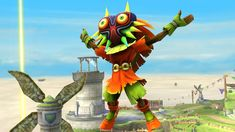 Skullkid to be an assist trophee in Super Smash Bros. for #WiiU and for #3DS | #Zelda #Majora