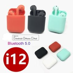 tws Bluetooth Earphone Wireless earphones Touch control Earbuds Surround Sound & Charging case for iPhone Android phone PK New Earbuds, Bluetooth Earbuds Wireless, Sport Earbuds, Headphones, Ios, Apple Airpods 2, Android, Flash Drive, Sport