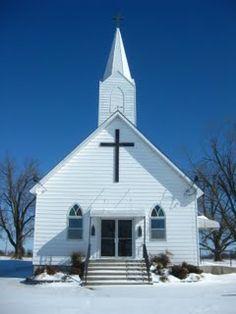 Our Little Country Church  St. John's Lutheran Stones Prairie/Purdy circa 1884