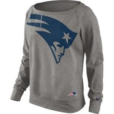 Official New England Patriots ProShop - Ladies Nike Wildcard Epic Crew