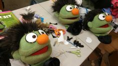 Avenue Q puppet building