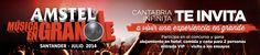Concurso amstel musica en grande   #Cantabria #Spain