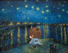 V Chibi, Painting, Fictional Characters, Art, Art Background, Painting Art, Kunst, Paintings, Performing Arts
